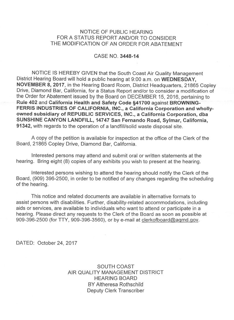 SCAQMD-Notice-Order-of-Abatement-Hearing-110817